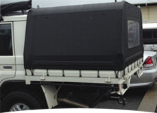 Ute Canopies & Shade Trim Canvas | Shade Sails Ute Canopies Boat Covers Hood ...