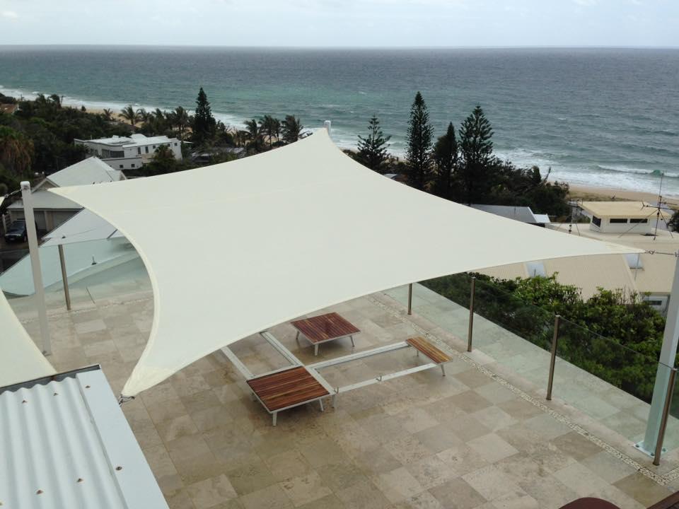 Sunshine Coast Ocean View Penthouse Entertainment, Shade Sail - STC