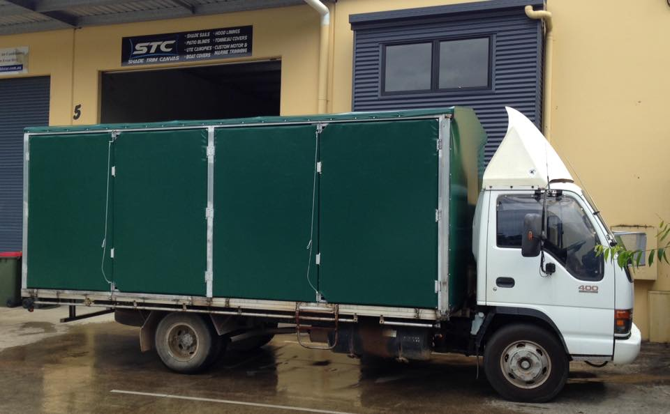 Truck Canvas Cover/Canopy - Shade Trim Canvas