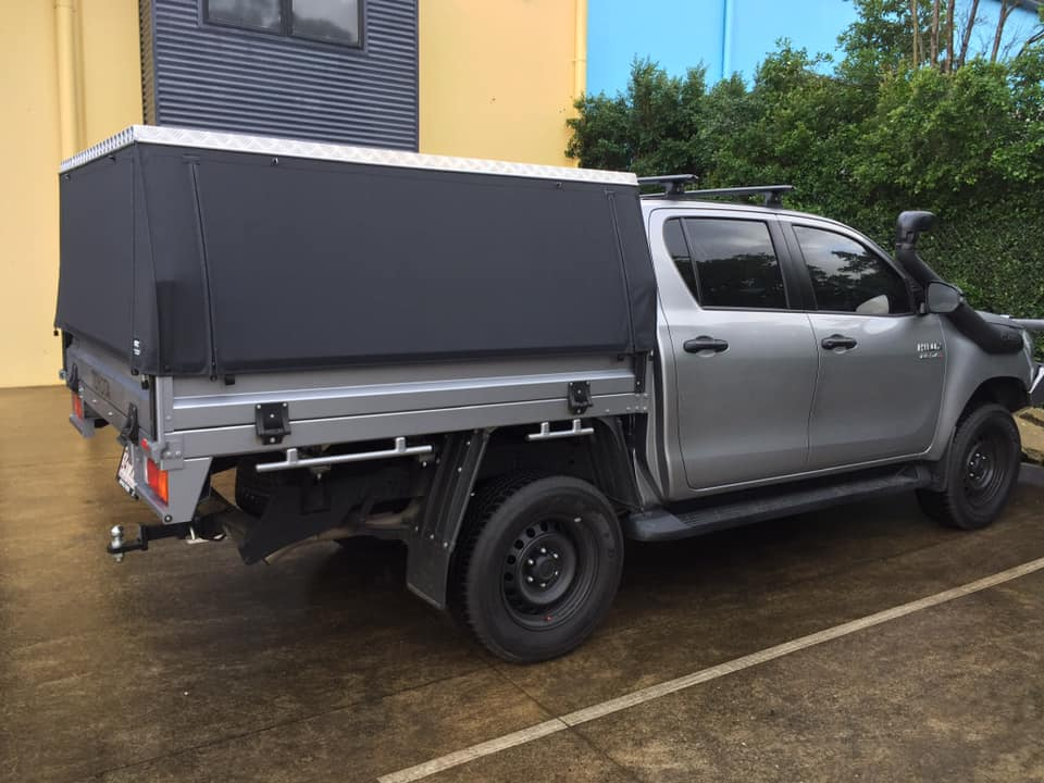 Toyota Hilux Slikfit Side View Ute Canopy (STC)