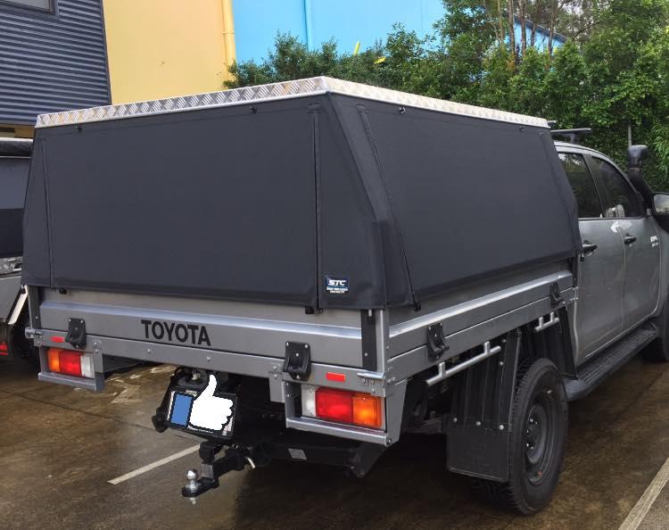 Toyota Hilux Slikfit Ute Canopy (STC)